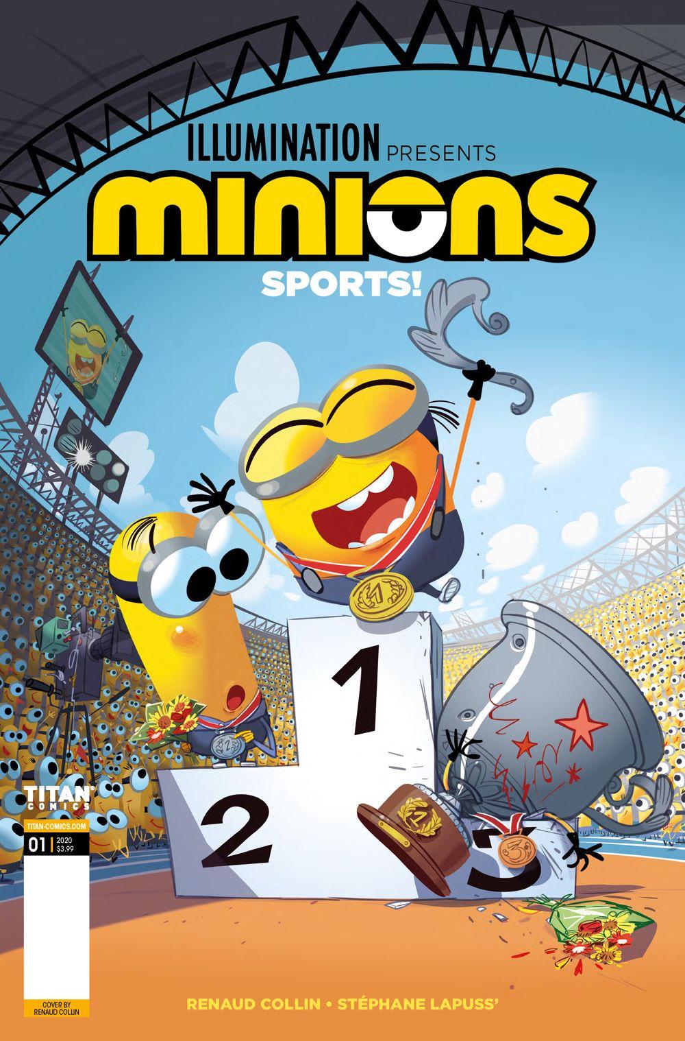 Minions-Sports-1-Cover ComicList: Titan Comics New Releases for 03/10/2021