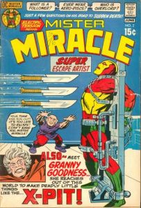 Mister-Miracle-2-203x300 Trends and Oddballs: Darkseid and Obnoxio the Clown