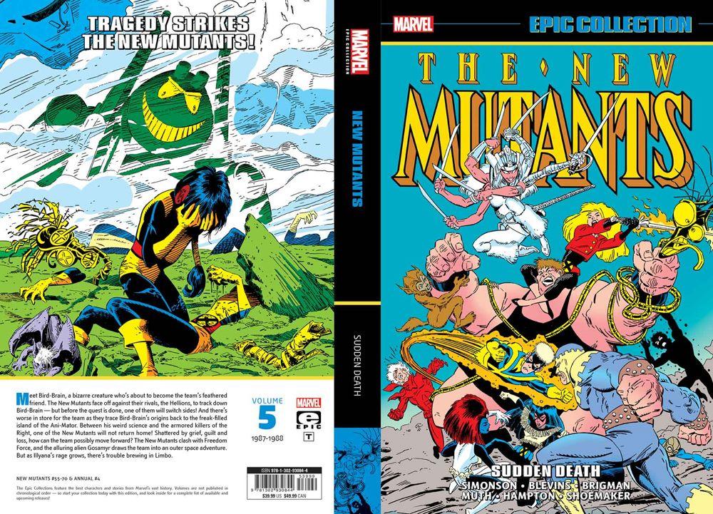 NMEPICV05TPB_1-4 Marvel Comics June 2021 Solicitations
