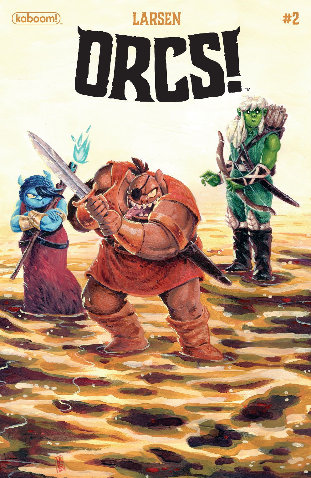 Orcs_002_Cover_A_Main ComicList Previews: ORCS #2 (OF 5)