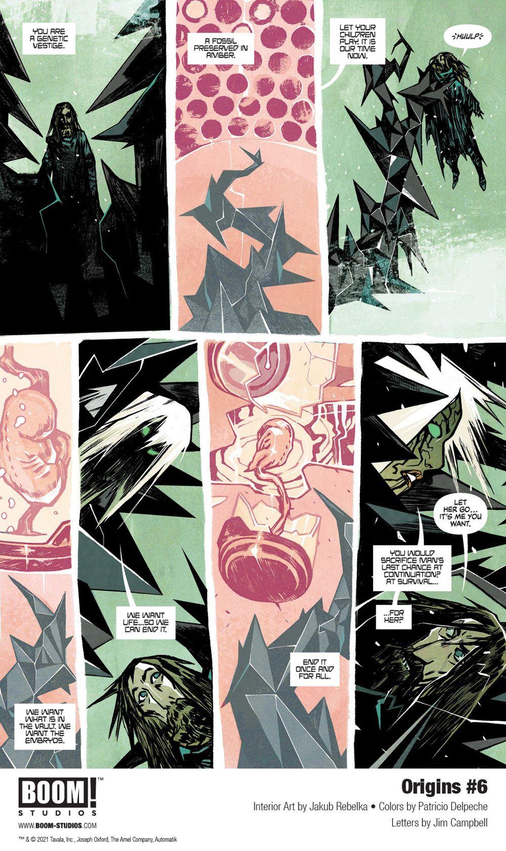 Origins_006_InteriorArt_005_PROMO First Look at BOOM! Studios' ORIGINS #6