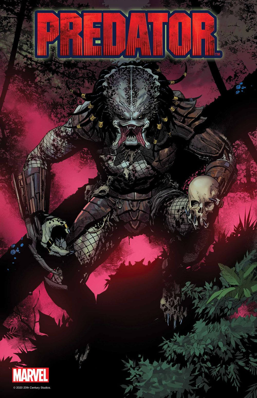 PREDATOR001_COV Marvel Comics June 2021 Solicitations