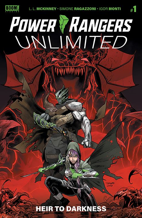 PR_Unlimited_HeirDarkness_001_Cover_A_Main ComicList Previews: POWER RANGERS UNLIMITED HEIR TO THE DARKNESS #1