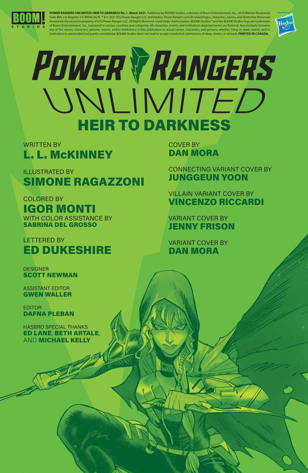 PR_Unlimited_HeirDarkness_001_PRESS_2 ComicList Previews: POWER RANGERS UNLIMITED HEIR TO THE DARKNESS #1