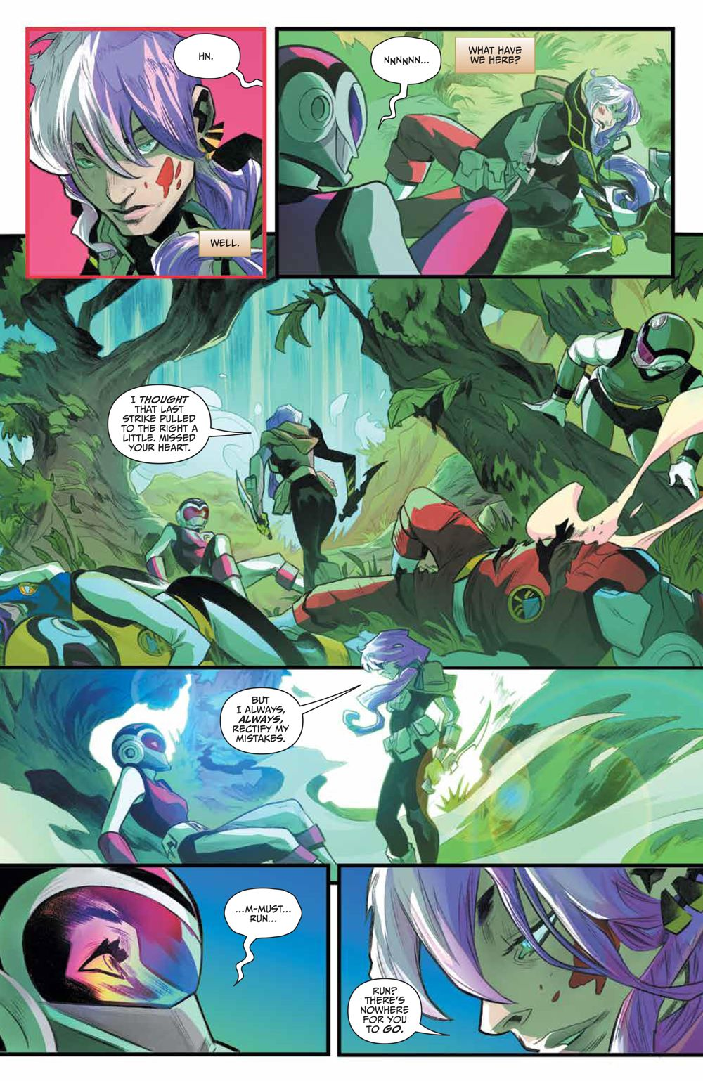 PR_Unlimited_HeirDarkness_001_PRESS_4 ComicList Previews: POWER RANGERS UNLIMITED HEIR TO THE DARKNESS #1