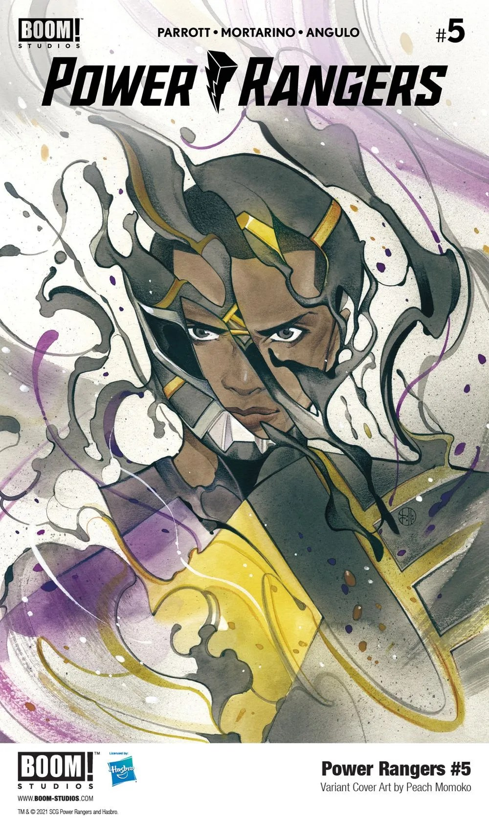 PowerRangers_005_Cover_Variant_Momoko_PROMO First Look at BOOM! Studios' POWER RANGERS #5