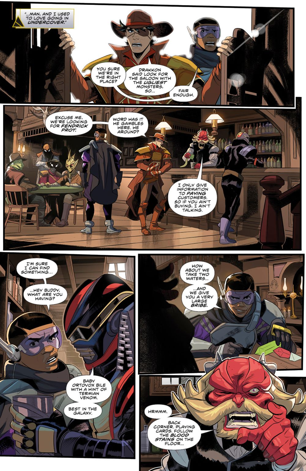 PowerRangers_005_PRESS_4 ComicList Previews: POWER RANGERS #5