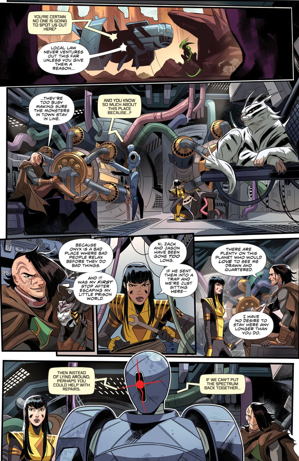 PowerRangers_005_PRESS_6 ComicList Previews: POWER RANGERS #5