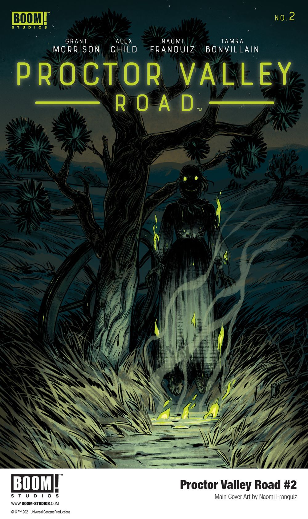 ProctorValleyRoad_002_Cover_Main_PROMO First Look at BOOM! Studios' PROCTOR VALLEY ROAD #2
