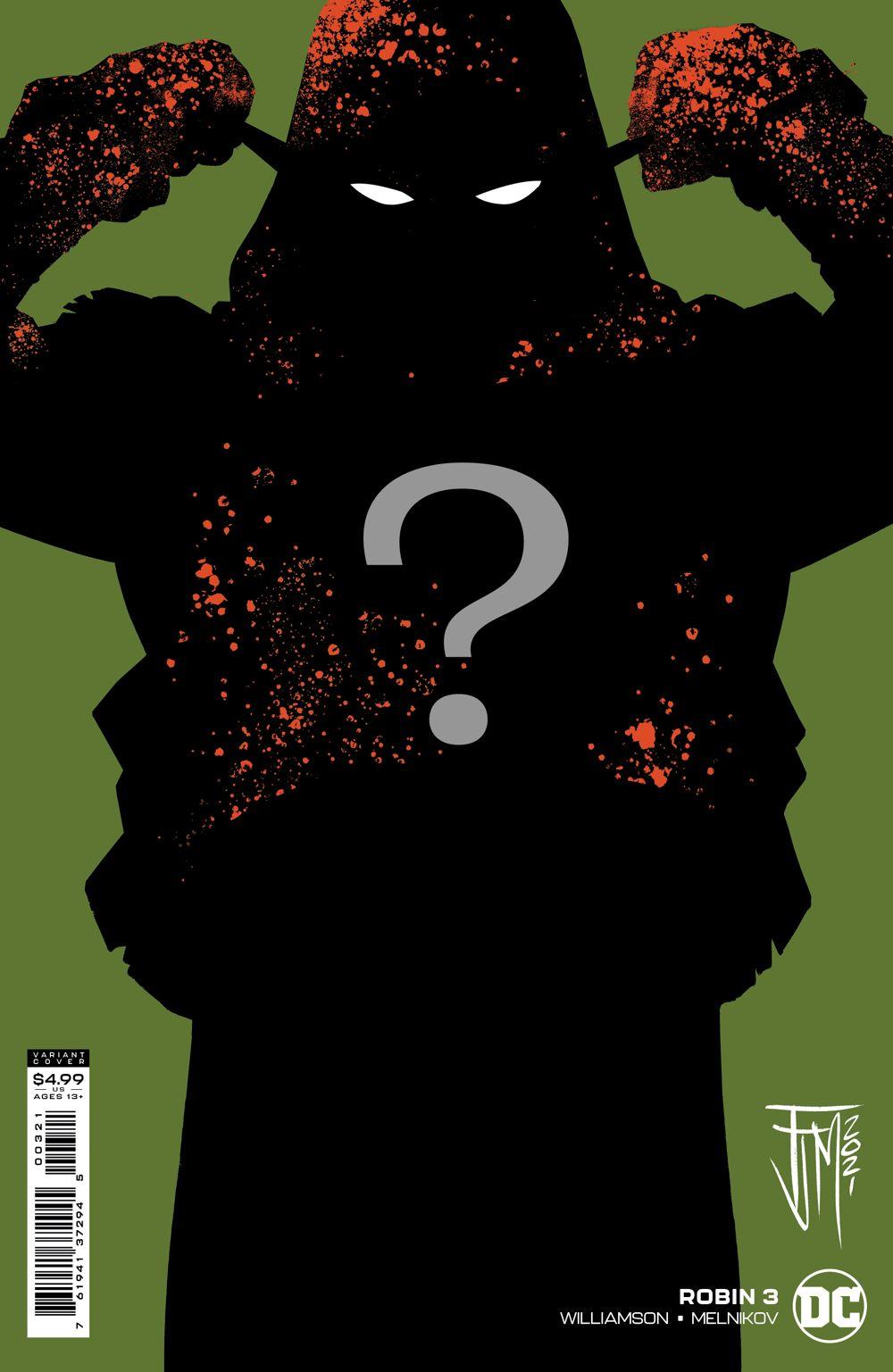 ROBIN_Cv3_VAR_SILO DC Comics June 2021 Solicitations