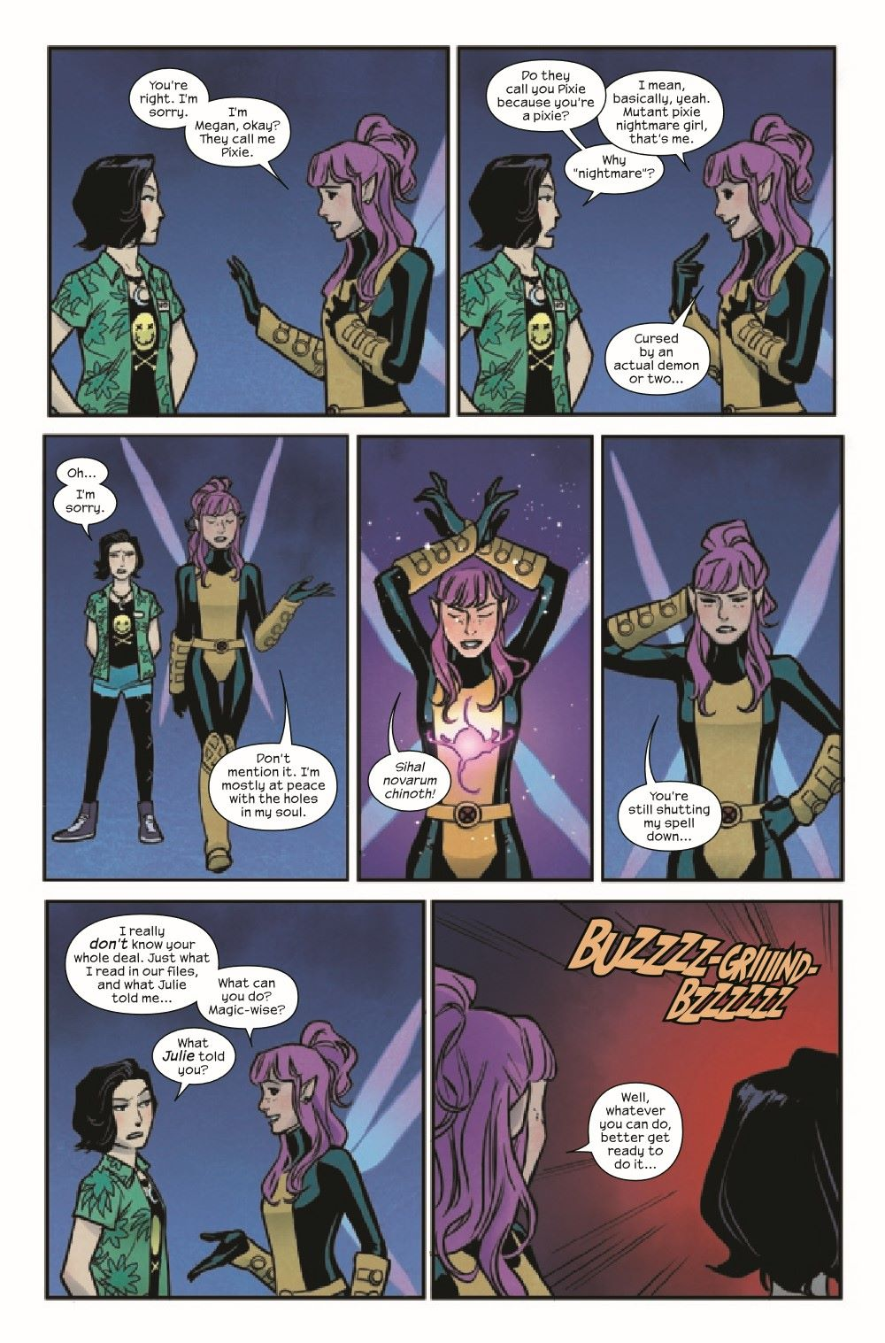 RUNAWY2017034_Preview-4 ComicList Previews: RUNAWAYS #34