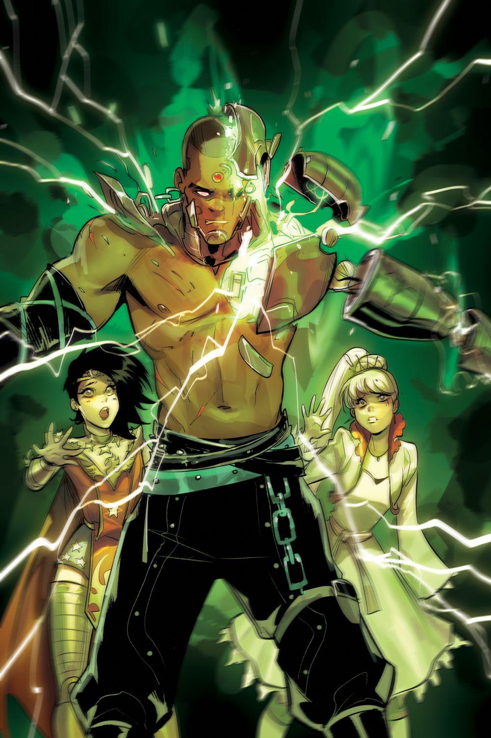 RWBY-Justice-League DC Comics June 2021 Solicitations