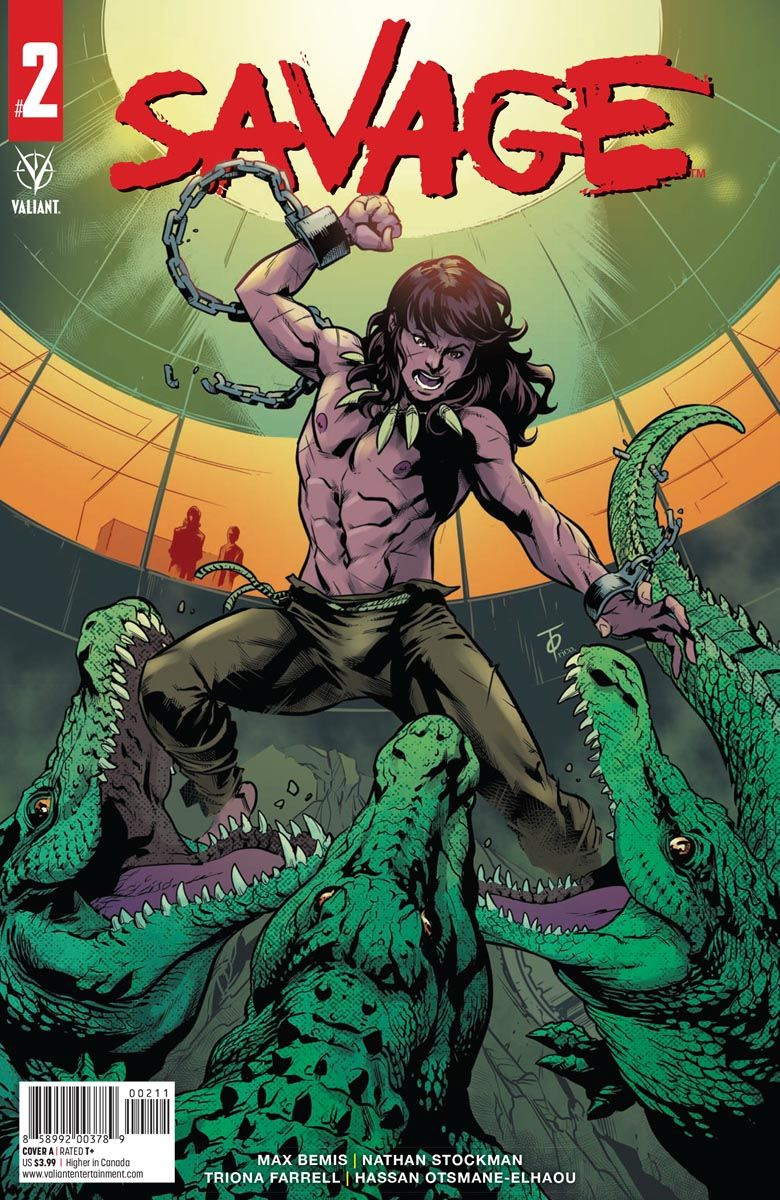 SAVAGE_2_COVER_A ComicList Previews: SAVAGE #2