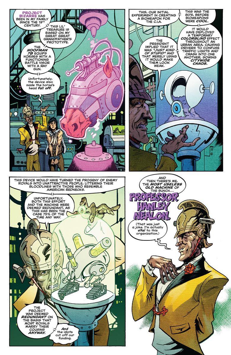 SAVAGE_2_PREVIEW_2 ComicList Previews: SAVAGE #2