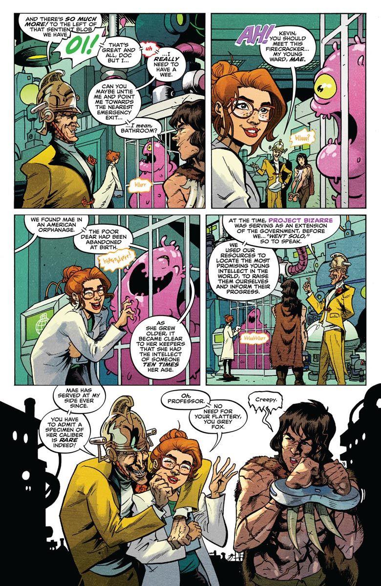 SAVAGE_2_PREVIEW_3 ComicList Previews: SAVAGE #2