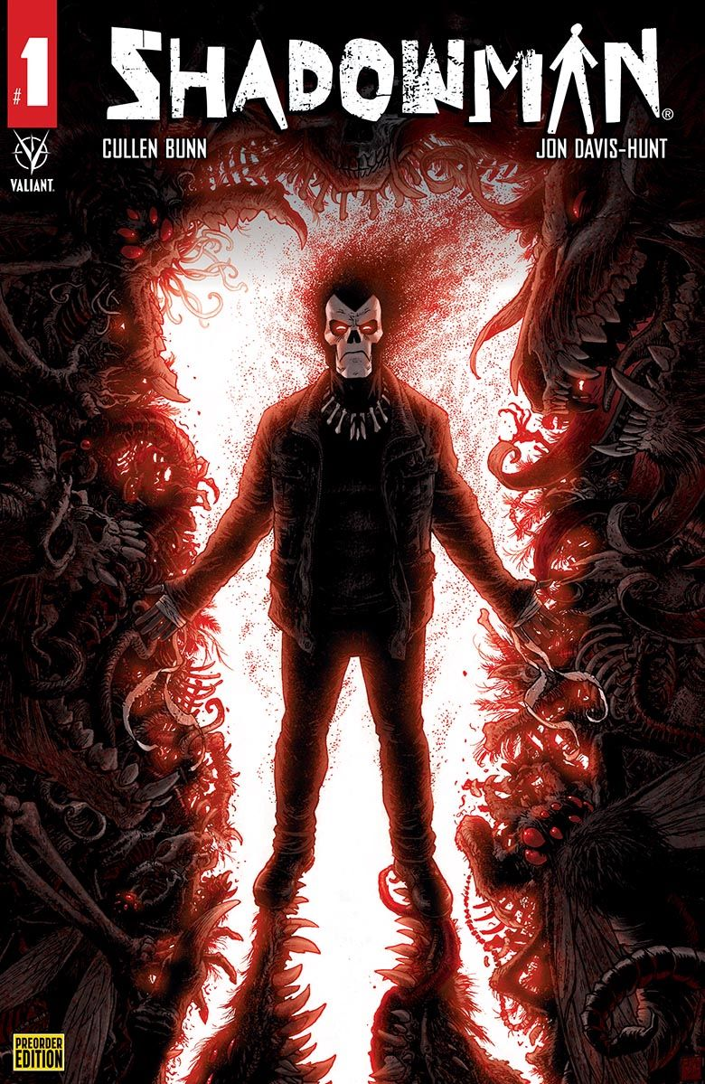 SHADOWMAN_01_COVER_MOORE_PREORDER First Look at Valiant Entertainment's SHADOWMAN #1