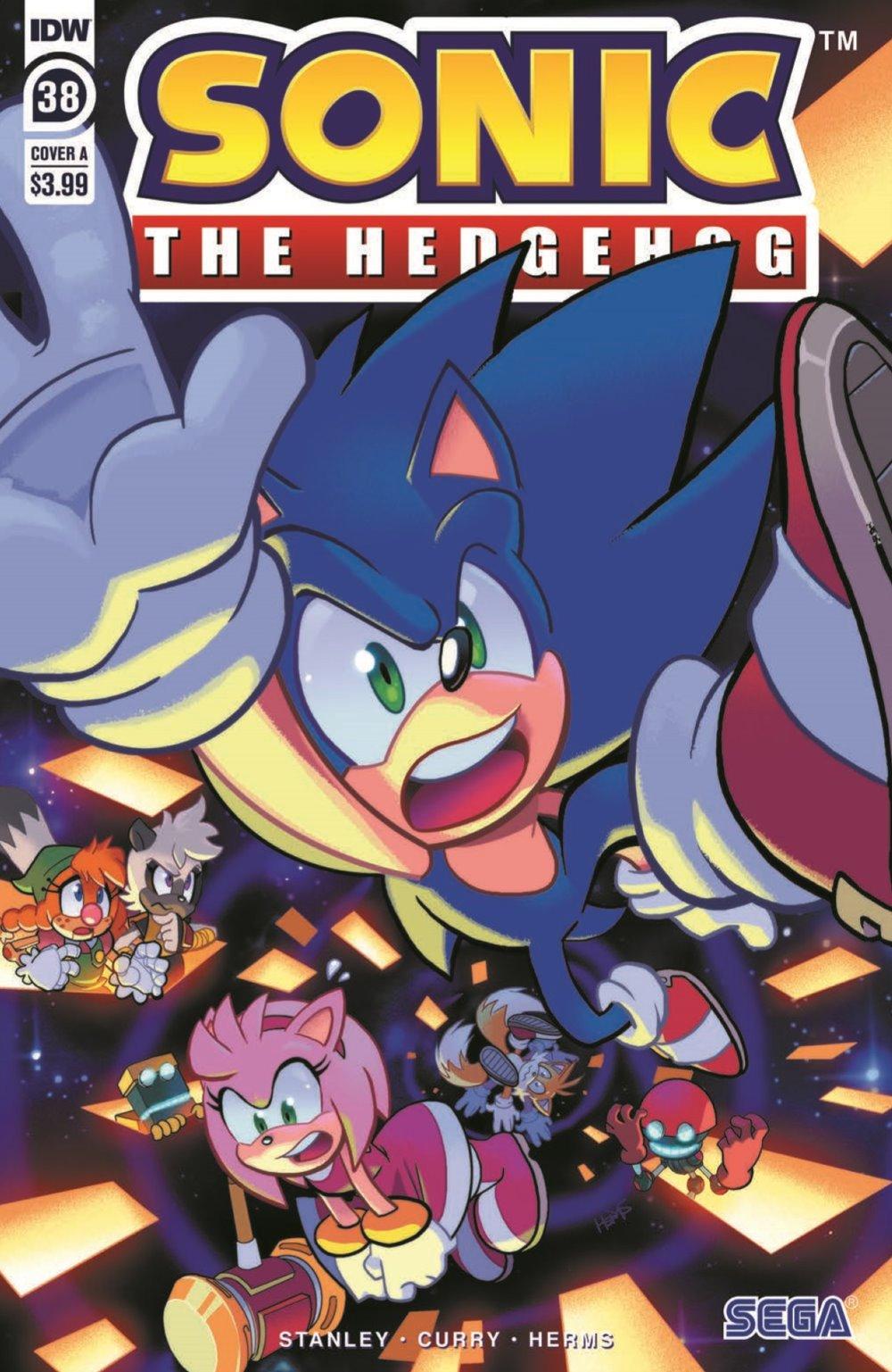 STH38_pr-1 ComicList Previews: SONIC THE HEDGEHOG #38