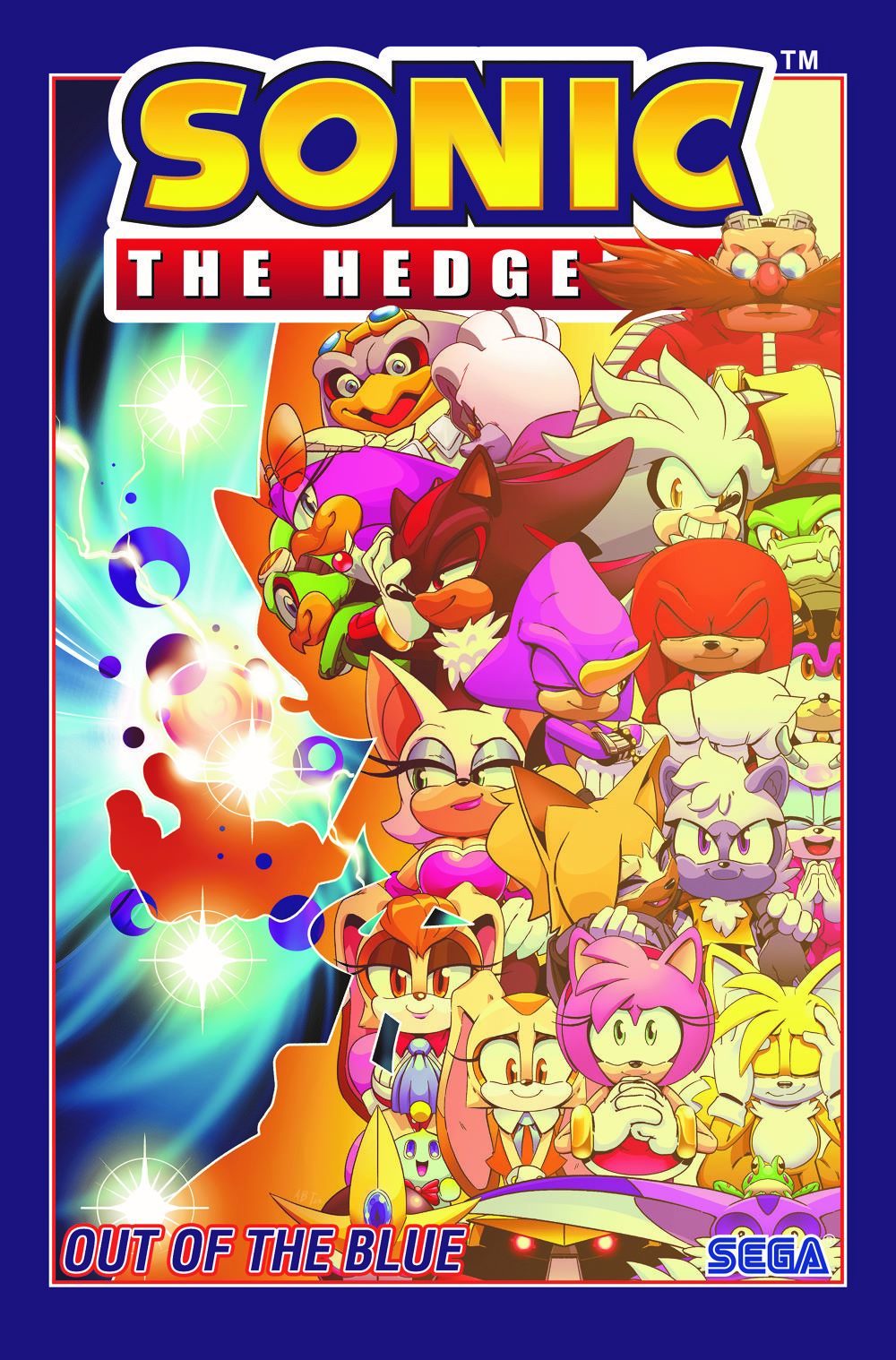 STH_v08-cvr ComicList Previews: SONIC THE HEDGEHOG VOLUME 8 OUT OF THE BLUE TP
