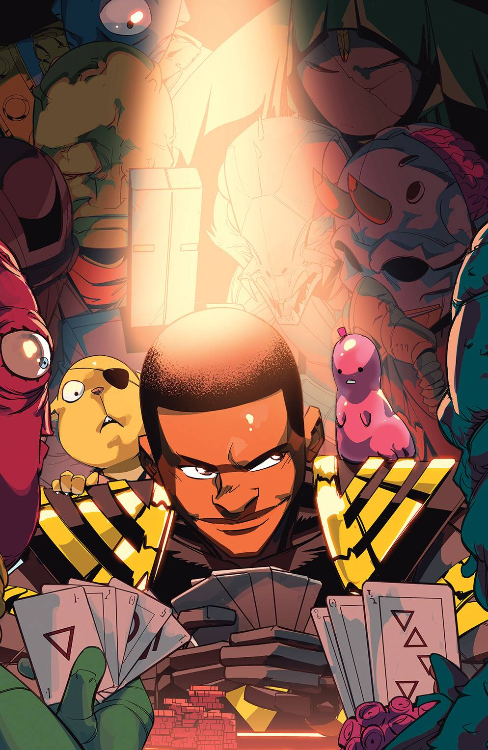 STL180047 ComicList Previews: POWER RANGERS #5