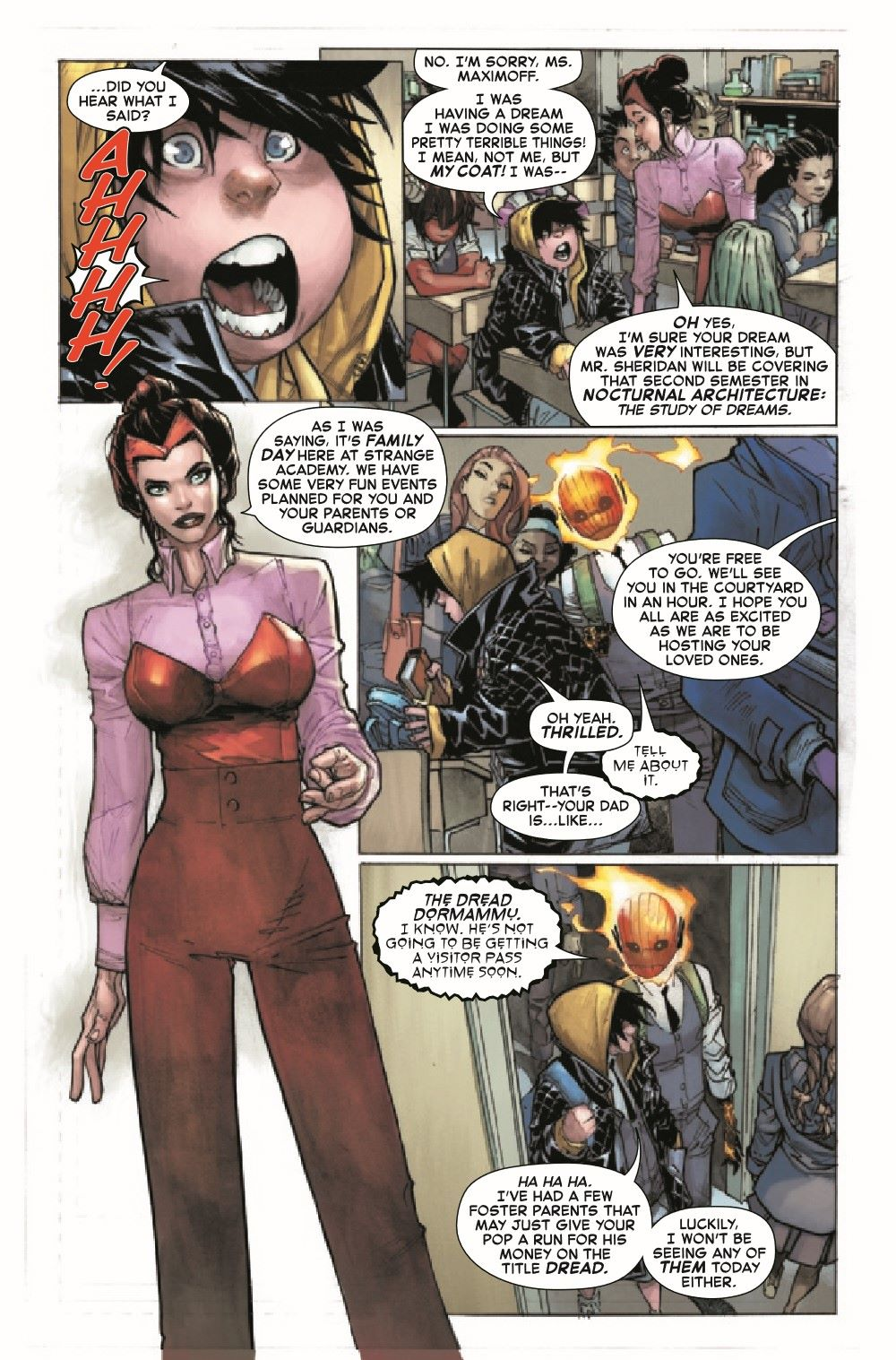 STRACADEMY2020009_Preview-6 ComicList Previews: STRANGE ACADEMY #9