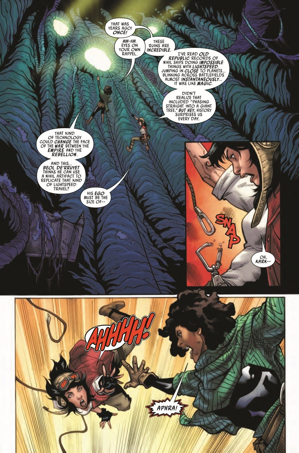 STWAPHRA2020008_Preview-5 ComicList Previews: STAR WARS DOCTOR APHRA #8