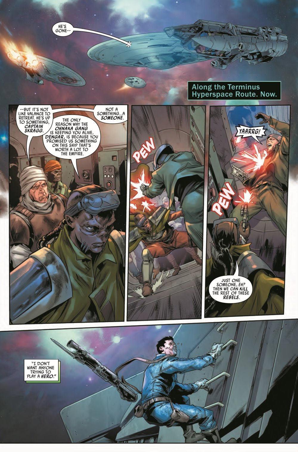 STWBOUNTYHUNT2020010_Preview-3 ComicList Previews: STAR WARS BOUNTY HUNTERS #10