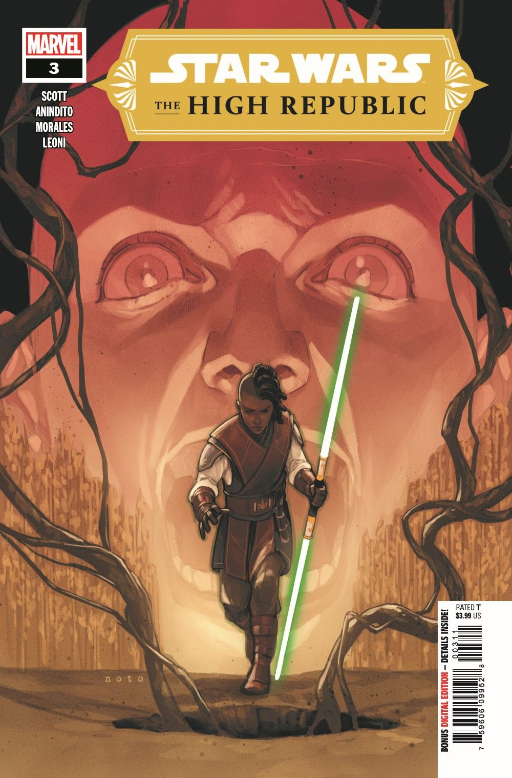 STWHIGHREP2020003_Preview-1 ComicList Previews: STAR WARS THE HIGH REPUBLIC #3