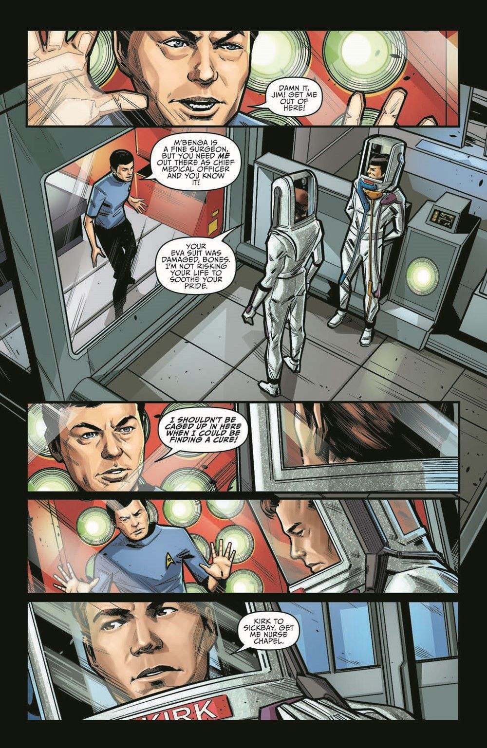 ST_YearFive19-pr-3 ComicList Previews: STAR TREK YEAR FIVE #19