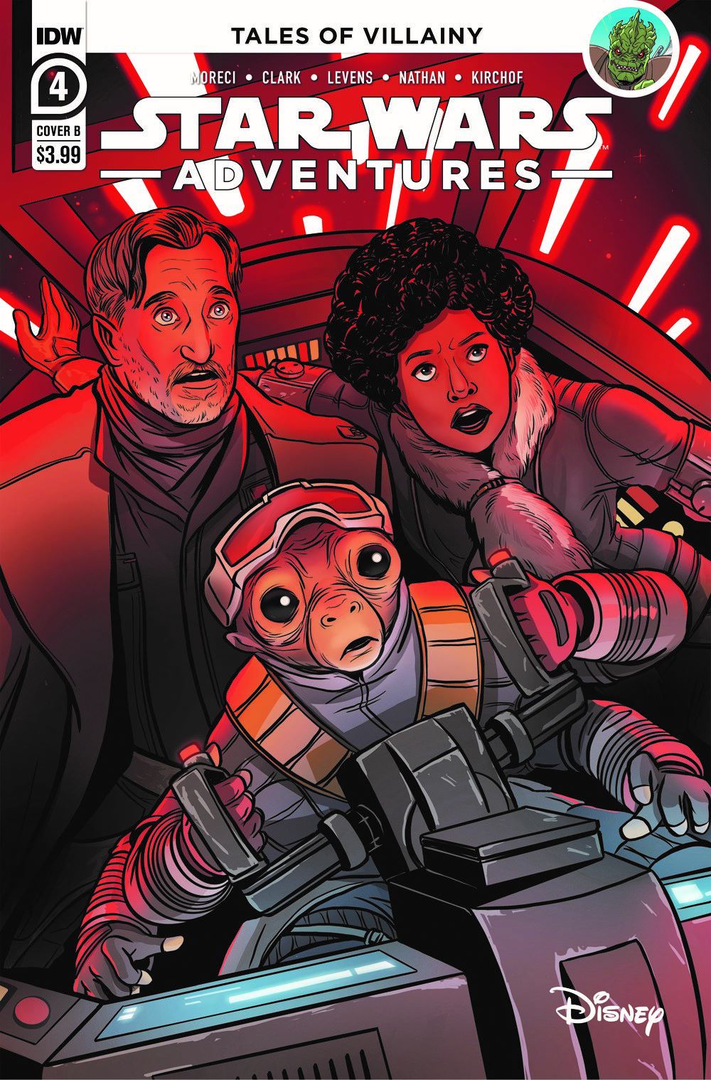 SWA-04-Cover-B ComicList: IDW Publishing New Releases for 03/24/2021