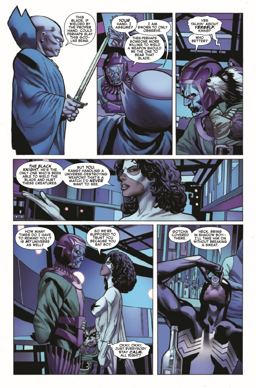 SYMBIOTESMKIB2020005_Preview-4 ComicList Previews: SYMBIOTE SPIDER-MAN KING IN BLACK #5 (OF 5)