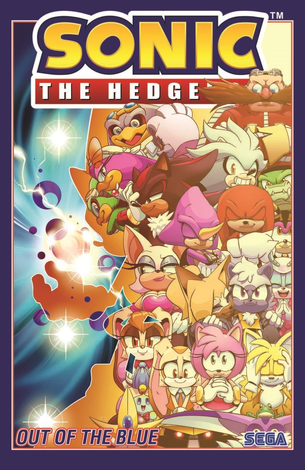 Sonic_V08_TPB_pr-1 ComicList Previews: SONIC THE HEDGEHOG VOLUME 8 OUT OF THE BLUE TP