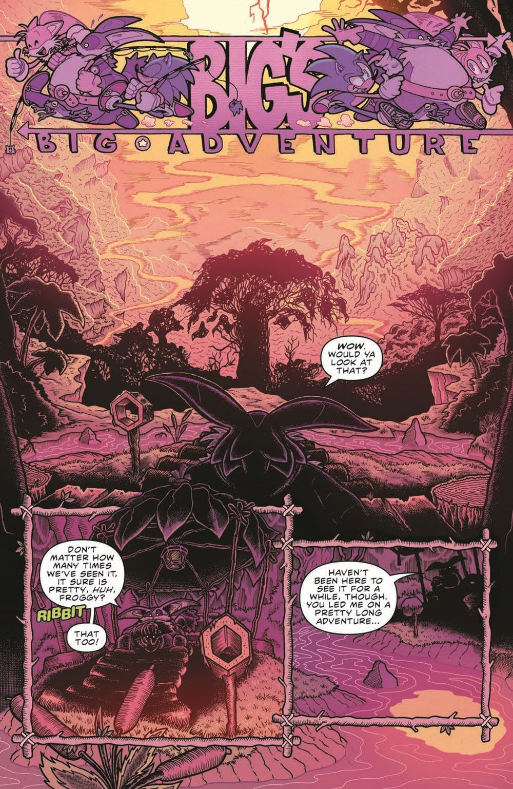 Sonic_V08_TPB_pr-4 ComicList Previews: SONIC THE HEDGEHOG VOLUME 8 OUT OF THE BLUE TP