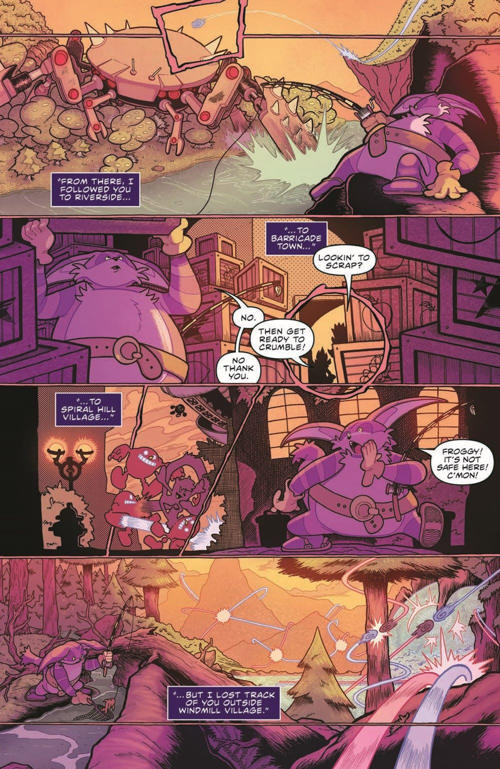 Sonic_V08_TPB_pr-6 ComicList Previews: SONIC THE HEDGEHOG VOLUME 8 OUT OF THE BLUE TP