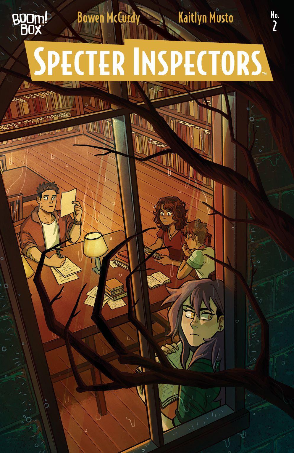 SpecterInspectors_002_Cover_A_Main ComicList Previews: SPECTER INSPECTORS #2 (OF 5)