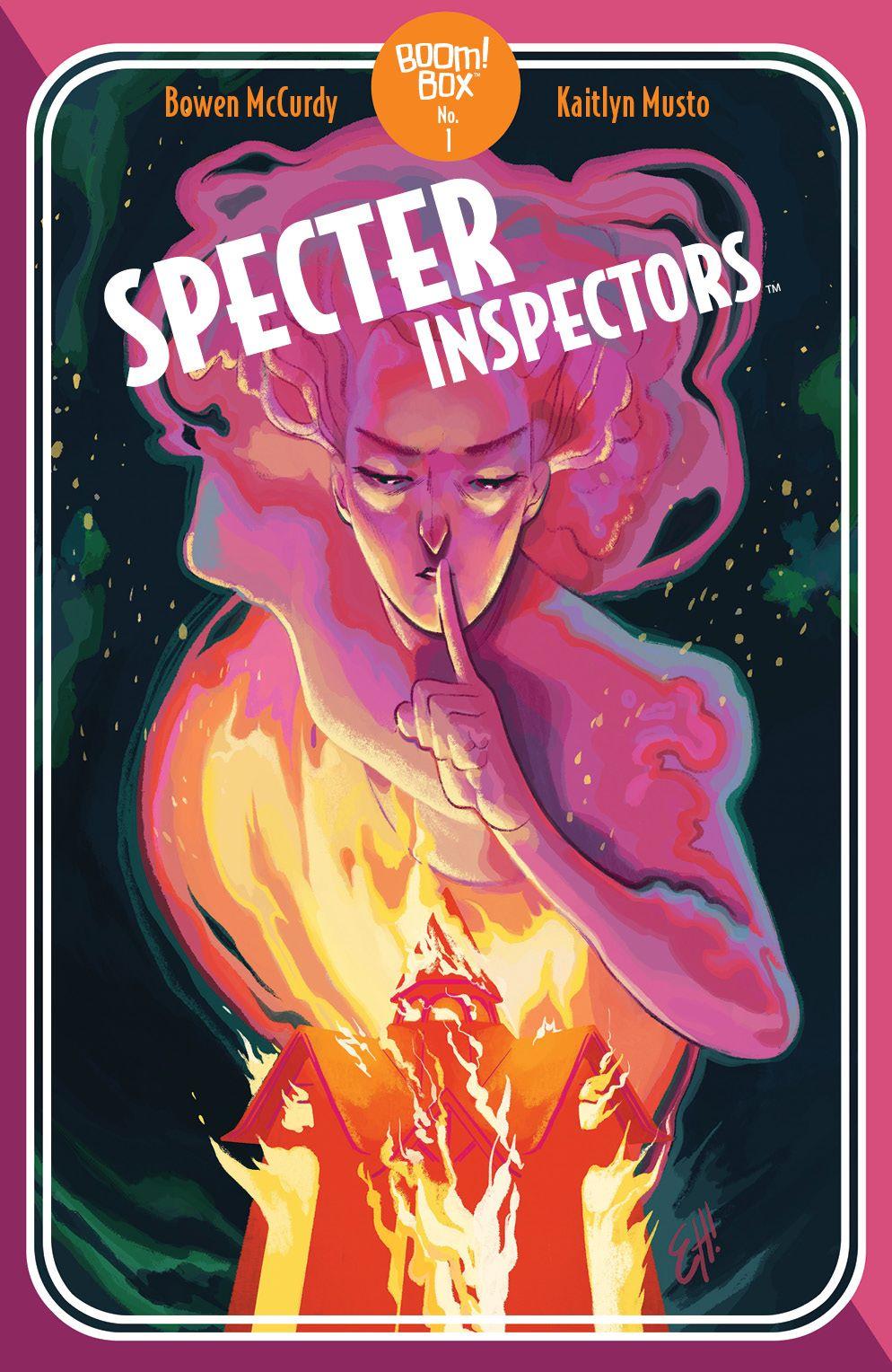 SpecterInspectors_002_Cover_B_PocketBookVariant ComicList Previews: SPECTER INSPECTORS #2 (OF 5)