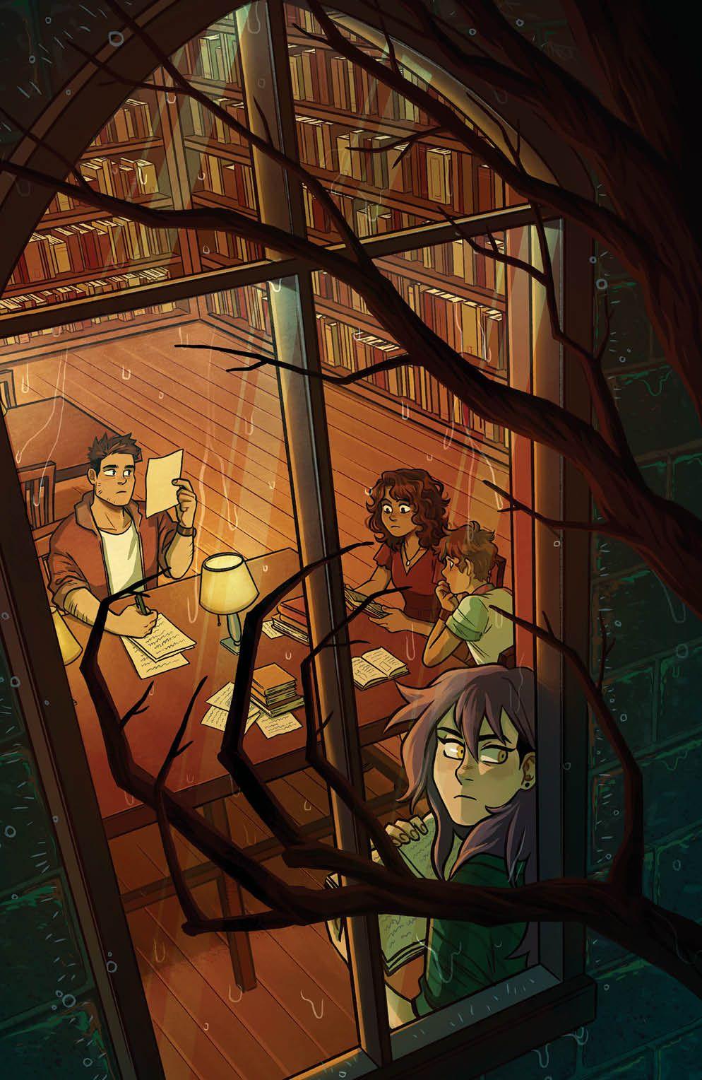 SpecterInspectors_002_Cover_C_Variant ComicList: BOOM! Studios New Releases for 03/10/2021