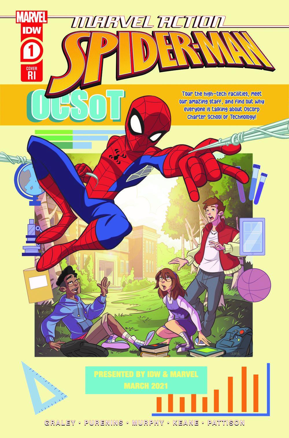 SpidermanV3-01_cvrRI ComicList: IDW Publishing New Releases for 03/31/2021