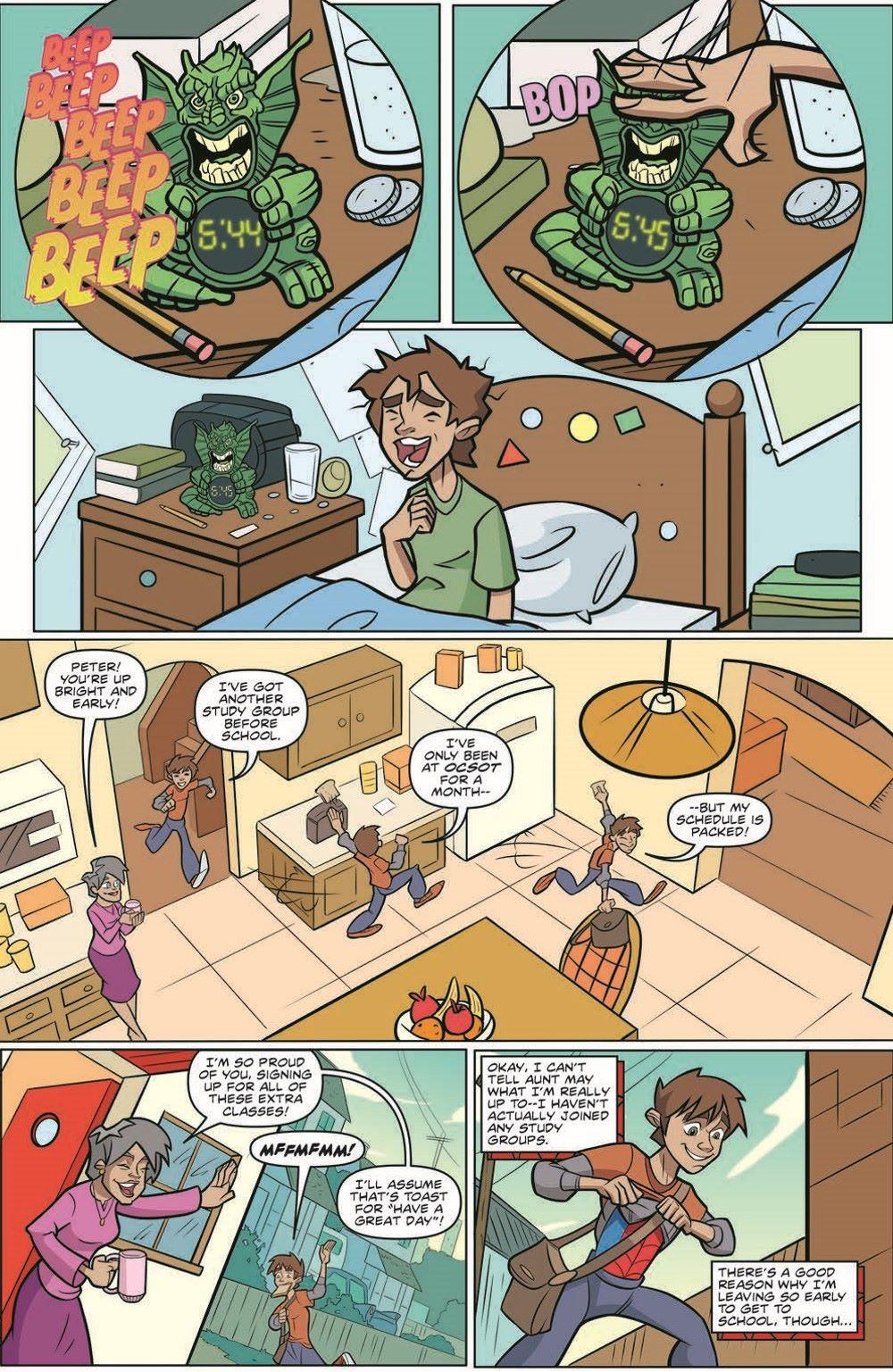 SpidermanV3-01_pr-3 ComicList Previews: MARVEL ACTION SPIDER-MAN VOLUME 3 #1