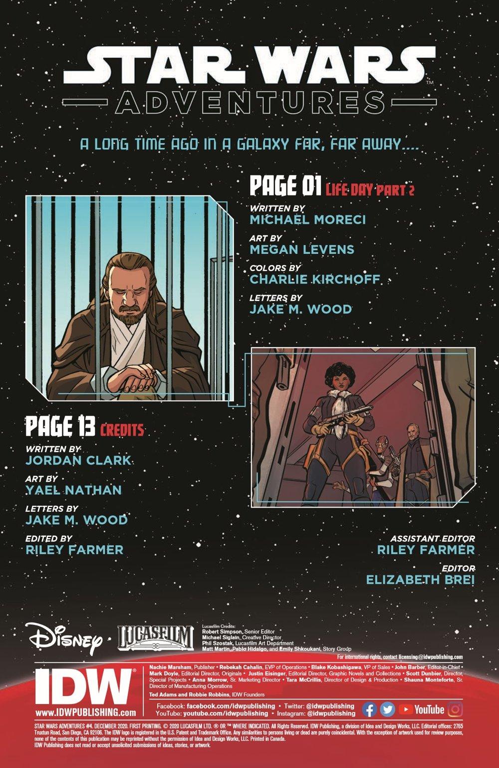 StarWarsAdv04-pr-2 ComicList Previews: STAR WARS ADVENTURES VOLUME 2 #4