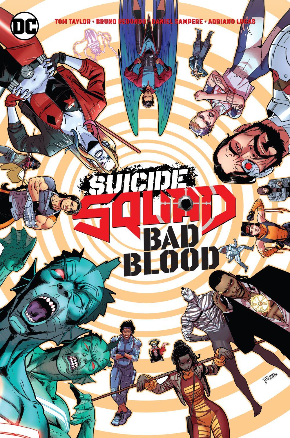 Suicide-Squad-Bad-Blood DC Comics June 2021 Solicitations
