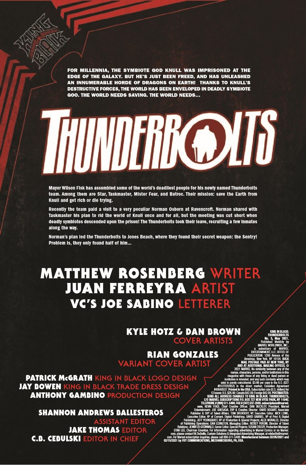 TBOLTSKIB2021003_Preview-2 ComicList Previews: KING IN BLACK THUNDERBOLTS #3 (OF 3)