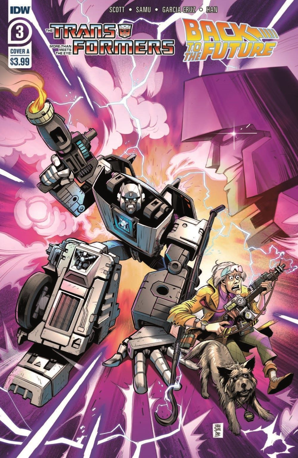 TF_BTTF03-pr-1 ComicList Previews: TRANSFORMERS BACK TO THE FUTURE #3 (OF 4)