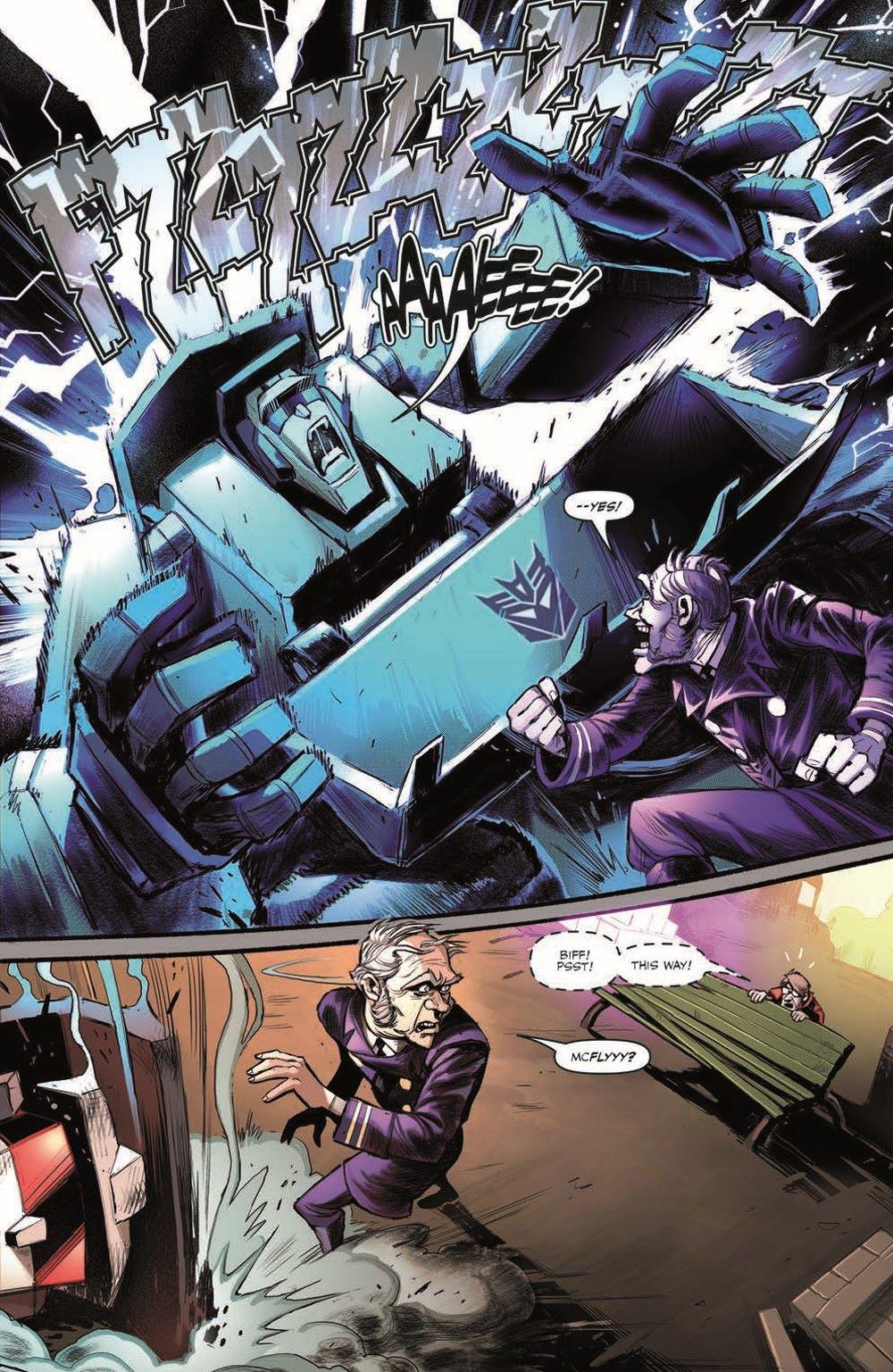 TF_BTTF03-pr-7 ComicList Previews: TRANSFORMERS BACK TO THE FUTURE #3 (OF 4)