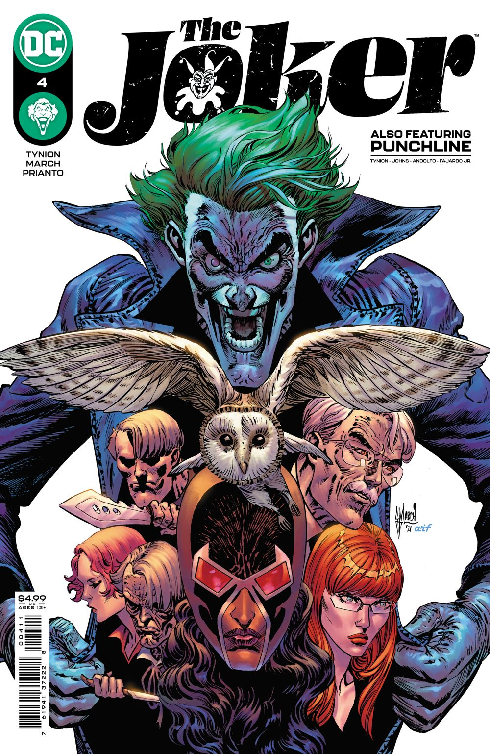 THEJOKER_Cv4 DC Comics June 2021 Solicitations
