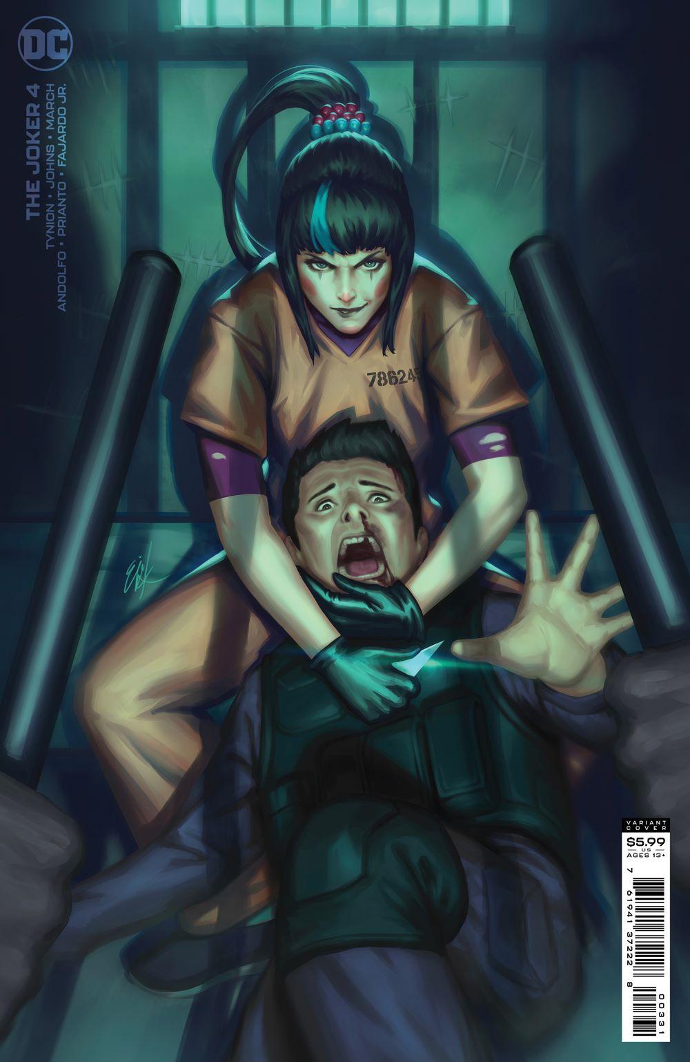 THEJOKER_Cv4_var2 DC Comics June 2021 Solicitations
