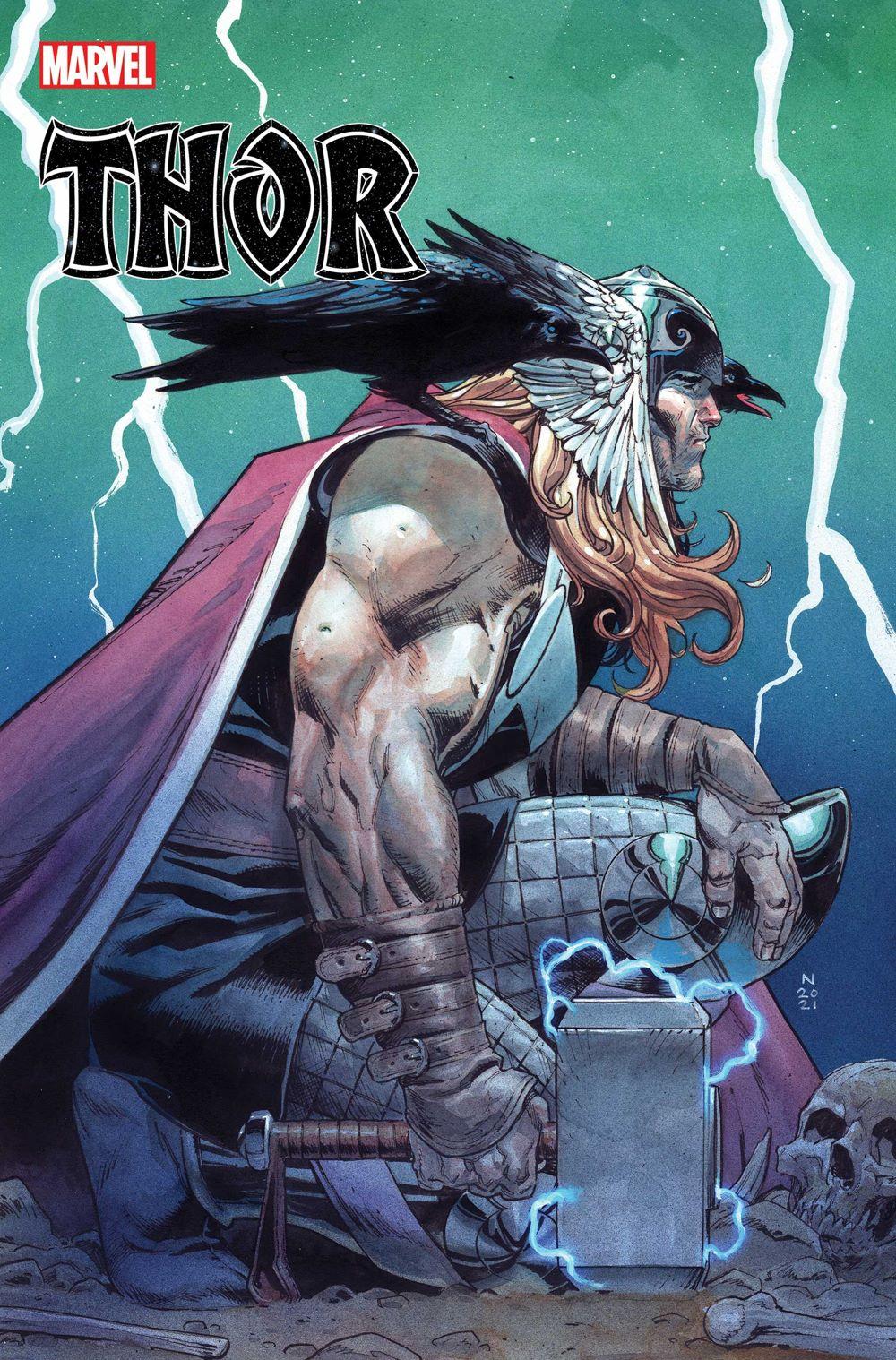 THOR2020015_Klein_var Marvel Comics June 2021 Solicitations