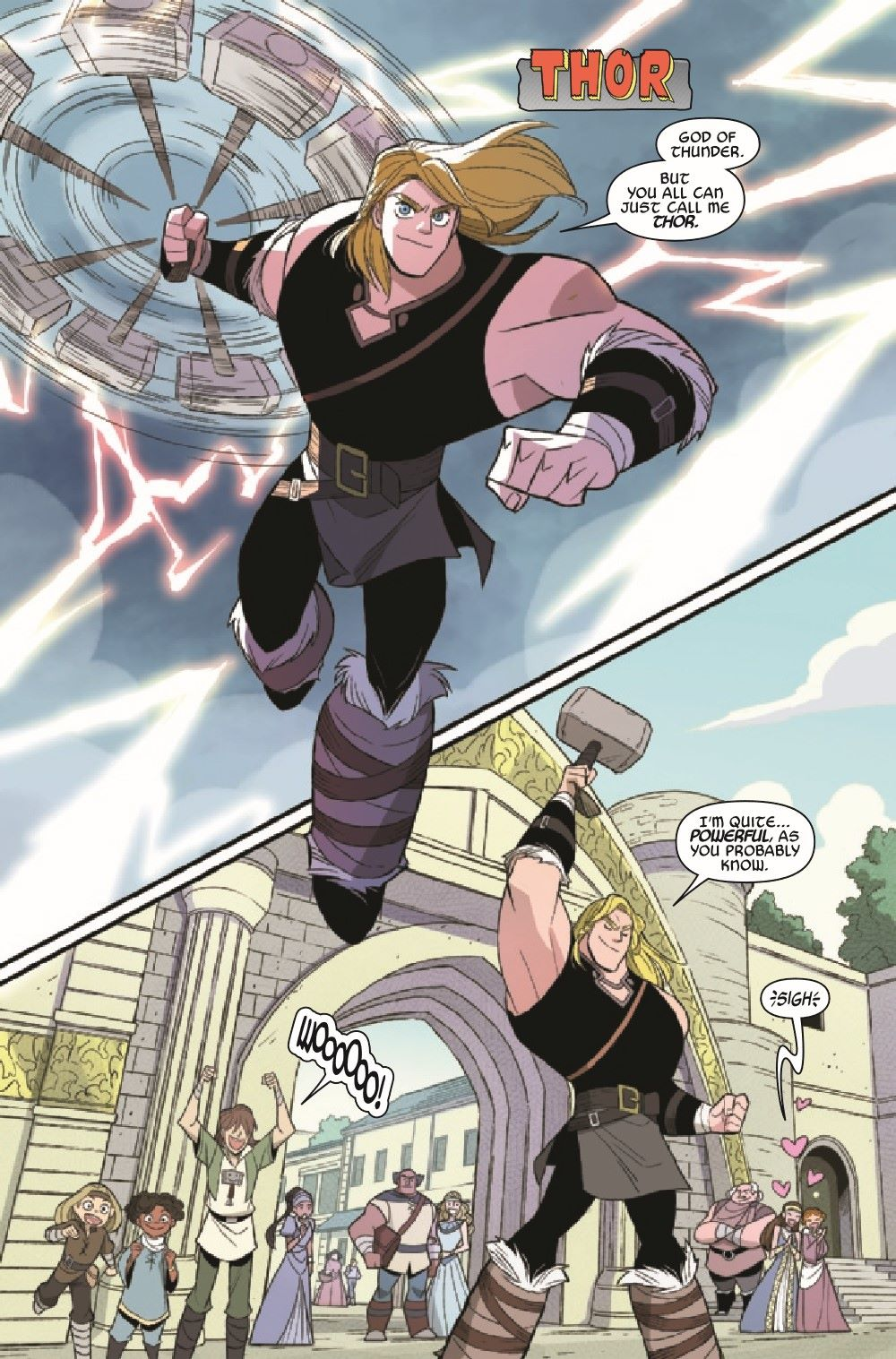 THORLOKIDT2020001_Preview-4 ComicList Previews: THOR AND LOKI DOUBLE TROUBLE #1 (OF 4)