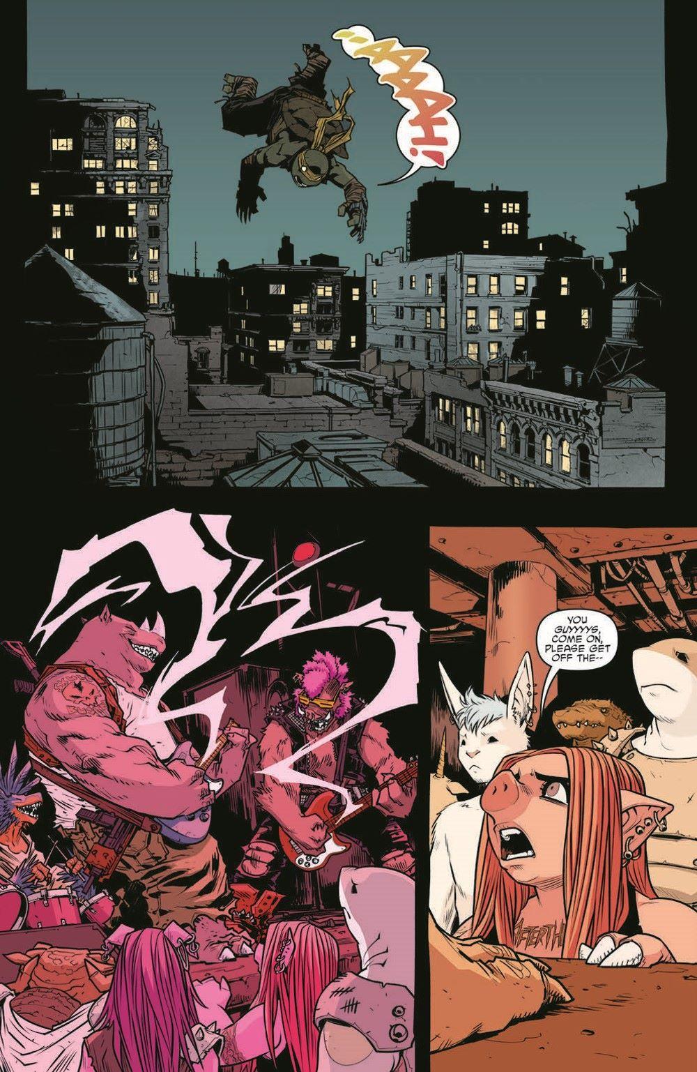 TMNT115_pr-3 ComicList Previews: TEENAGE MUTANT NINJA TURTLES #115