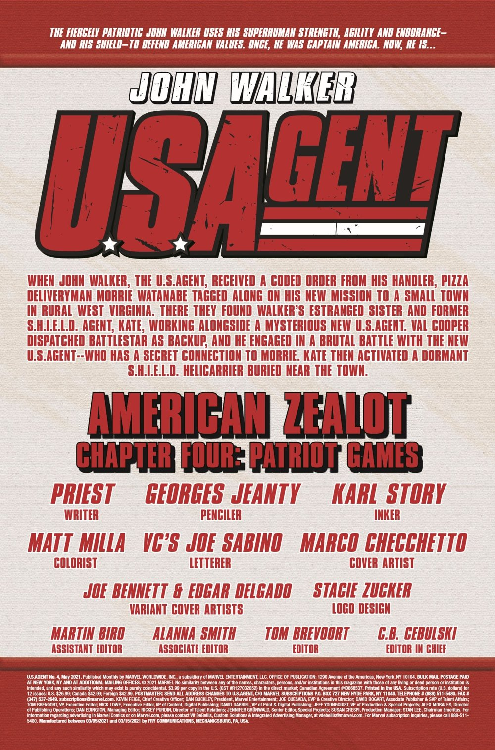 USAGENT2020004_Preview-2 ComicList Previews: U.S.AGENT #4 (OF 5)