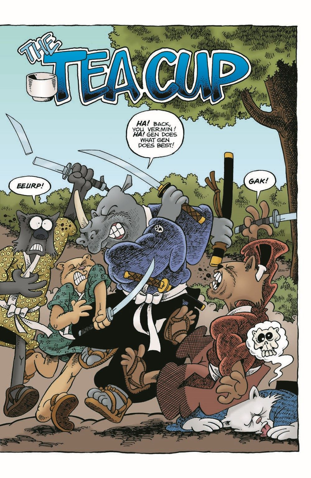 Usagi-WR05_pr-5 ComicList Previews: USAGI YOJIMBO WANDERER'S ROAD #5 (OF 6)